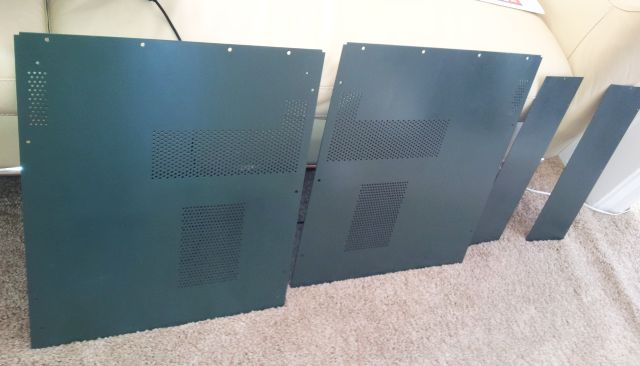 msr-904a panels - newly painted