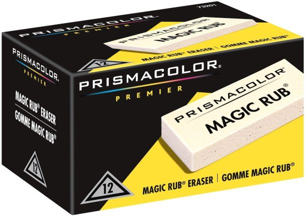 prismacolor magic rub box