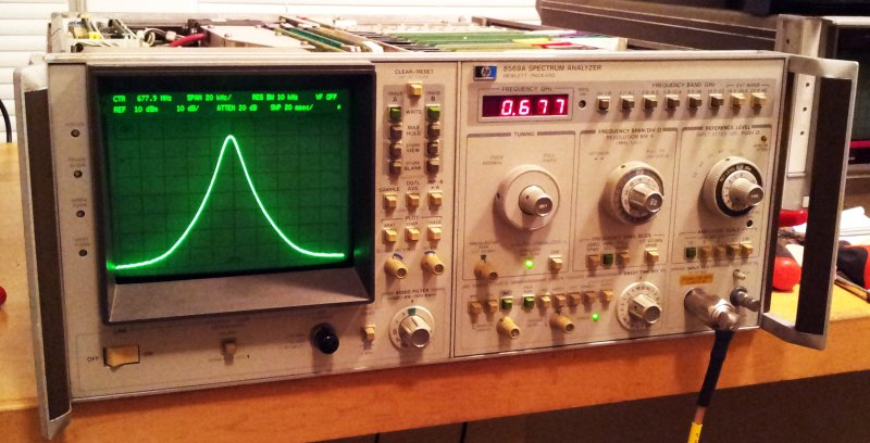 8569a working stabilizer 20 khz span 10 khz res bw