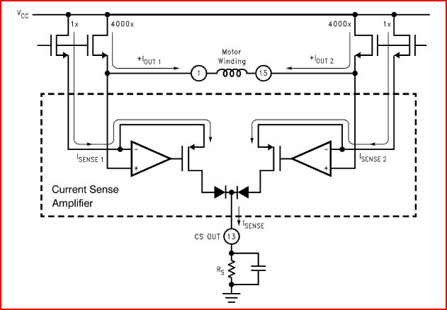 lmd18245 dmos current sense