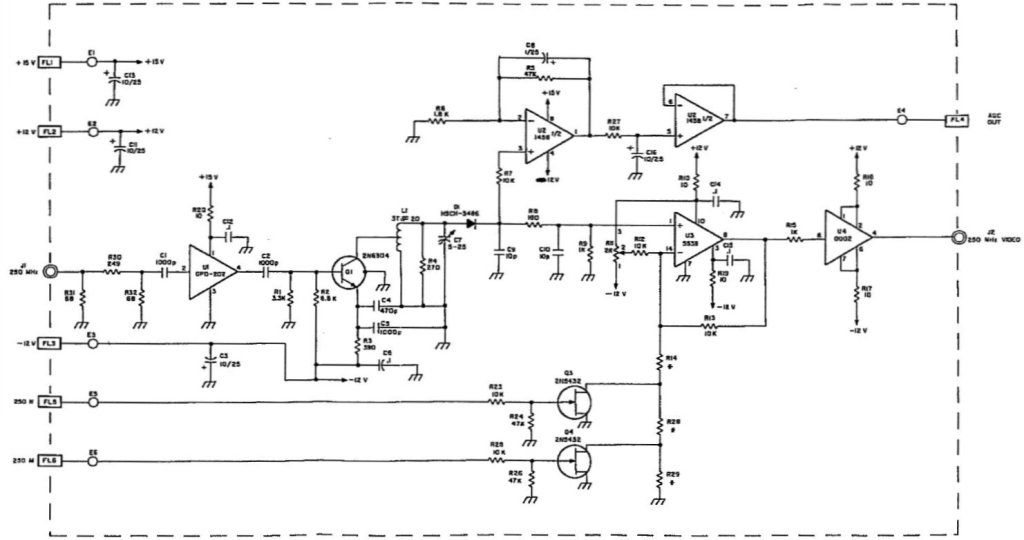 msr-904A a3b5 assy schematic AM detector 250 MHz