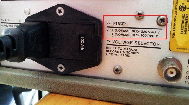 3326a fuse rating