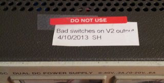 6205c bad switches
