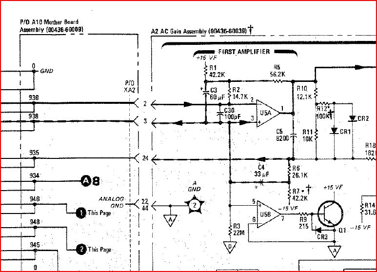 436a analog gnd schematic
