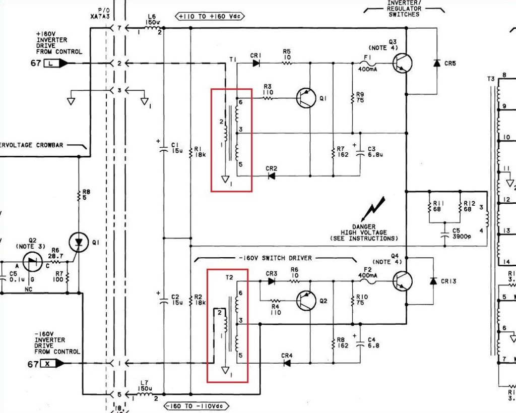 08662-60289 base drive schematic